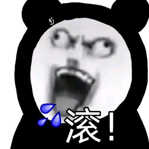 小眼睛熊猫人表情包