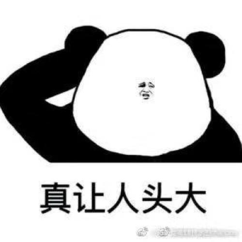 表情包熊猫头