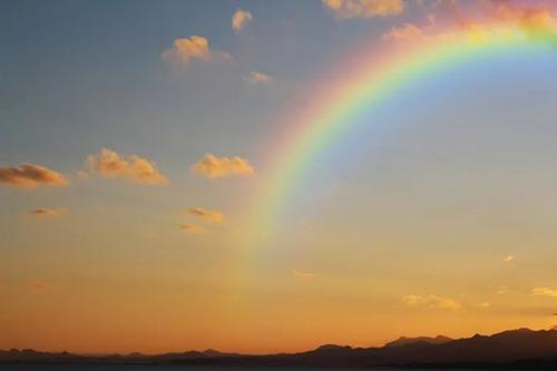 风景图片彩虹