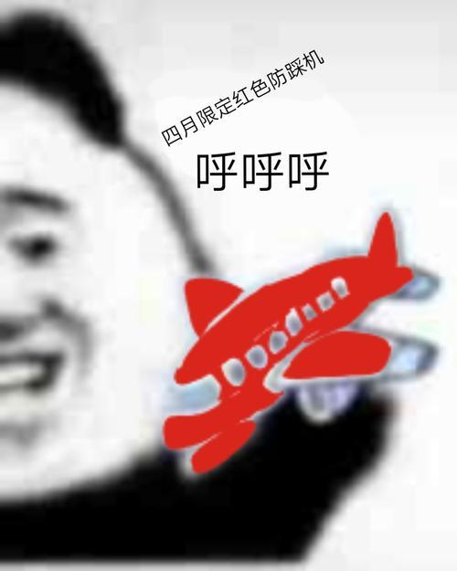 呼呼呼小飞机表情包