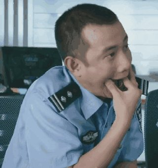 美人鱼警察动态表情包