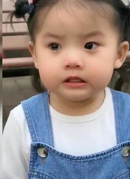 小女孩表情包 生气