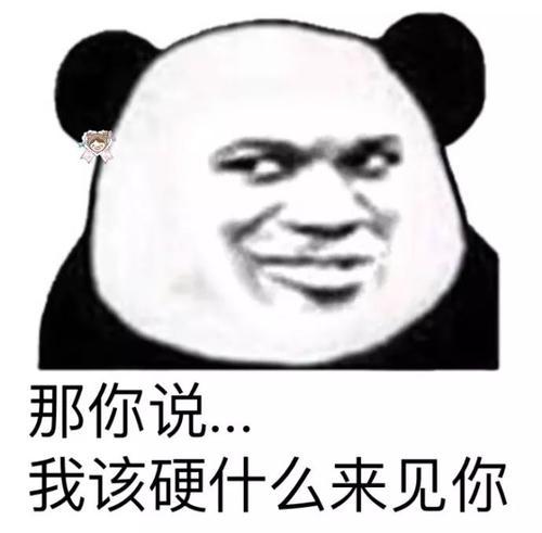 歪嘴熊猫人表情包